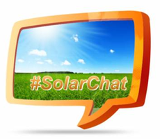 #SolarChat on Twitter, Nov. 16th, 2-3 p.m. ET