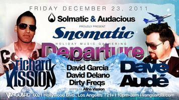 12/23 [Departure] RICHARD VISSION & DAVE AUDE w/ David...