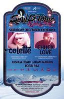 12/17 [Soul & Tonic Holiday Party!] COLETTE & CHUCK...