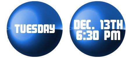 Tuesday, December 13th College Financial Planning...