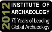 Institute of Archaeology 75th Anniversary - Gordon...