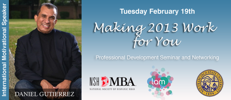 Professional Development: Making 2013 Work For You