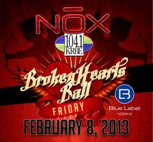 104.1 KRBE Broken Hearts Ball @ Nox