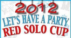 Red Solo Cup New Year's Party