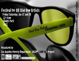 'Festival for All Skid Row Artists' Jan. 27 & 28 in...