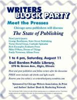 Writers Block Party - Meet the Presses!