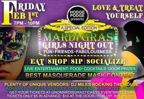 DOOR PRIZES-GIRLS NIGHT OUT MARDI GRAS