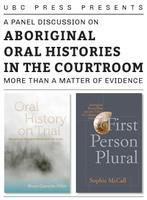 Aboriginal Oral Histories in the Courtroom: More Than...