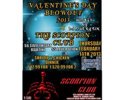 Valentine's Day 2013 @ The Scorpion Club