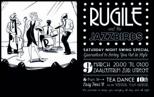 Rugile and the Jazz Birds - Saturday Night Swing Party