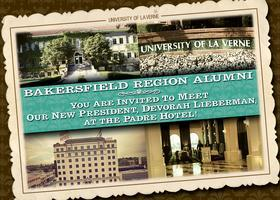 University of La Verne Alumni Reception in...
