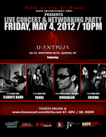 Live Concert and Networking Party!