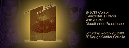 STUDIO 11  The LGBT Center's Annual Soiree  at the SF...
