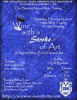Wine with a Stroke of Art