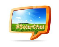 #SolarChat on Twitter - March 14th, 2:00 - 3:00  p.m....