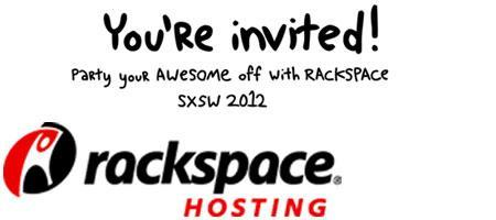 Party Your Awesome Off with Rackspace