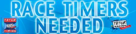 Help Time Races for Tatur Events & Earn $15 In Entry...
