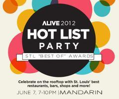 Hot List Party: STL Best Of Awards
