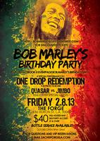 Bob Marley's Birthday Party @ The Forge