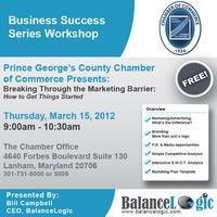 """Business Success Series: """"Breaking Through the..."""