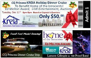 KREIA Holiday Meeting CQ Princess Dinner Cruise