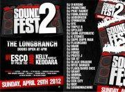 Soundfest 2012 at The Longbranch Raleigh, NC