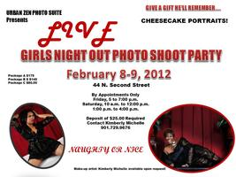 GIRLS NIGHT OUT LIVE PHOTO SHOOT