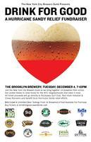Drink For Good: A Hurricane Sandy Relief Fundraiser