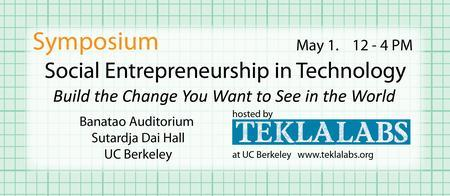 Social Entrepreneurship in Technology Symposium at UC B...