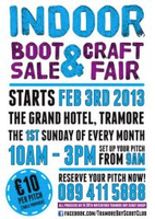 Tramore Indoor Car Boot & Craft Fair