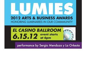 2012 Lumies Arts & Business Awards on June 15th