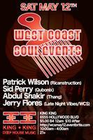 5/12 WCS Events $5.00 party w /  PATRICK WILSON, JERRY...