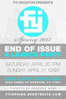 FYI Houston Spring 2013, End of Issue & Launch Party