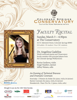 Conservatory Faculty Recital