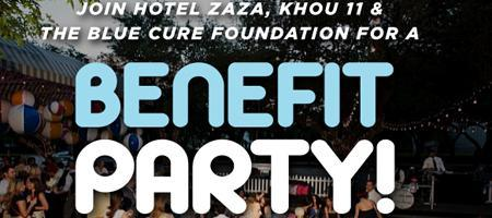 Benefit Party and Fundraiser Celebrating Men's Health...