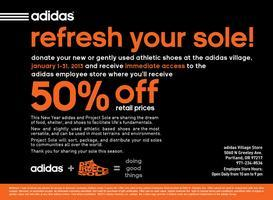 Refresh Your Sole! Get Access to the adidas Employee...