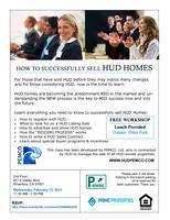 HOW TO SUCCESSFULLY SELL HUD HOMES!!