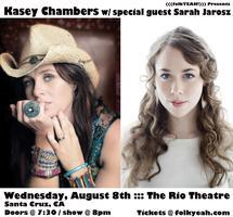 Kasey Chambers w/ special guest Sarah Jarosz - August...