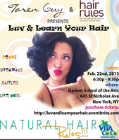 Luv & Learn Your Hair: Black History Edition