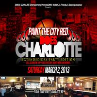 CI PAINT THE CITY RED DOES CHARLOTTE