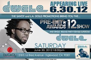 Pre-BET Awards Show feat. Dwele