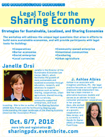 Legal Tools for the Sharing Economy