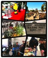 Los Angeles Slow Day - Melrose Trading Post, Local Art...