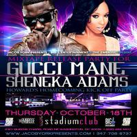 GUCCI MANE & SHENEKA ADAMS HOWARD's HOMECOMING KICK...