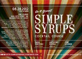 Simple Syrups Cocktail Course