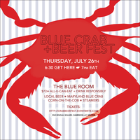 BLUE CRAB + Beer Fest!