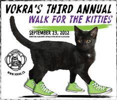 VOKRA's 2012 3rd Annual Walk for the Kitties