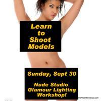 Glamour Nude Studio Lighting Photography Workshop