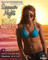 08.23.12 | SUMMER NIGHTS @ THE TERRACE NIGHT CLUB...