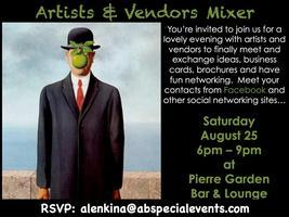 Artists & Vendors Mixer